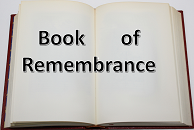 Book of Remembrance cropped