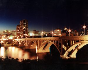 Saskatoon_Skyline_Night