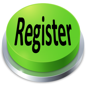 Register button green 3D