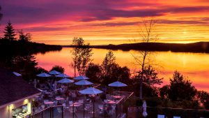 Riverside evening