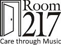 Room 217 logo half